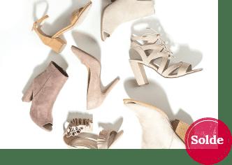 Photo de chaussures en solde